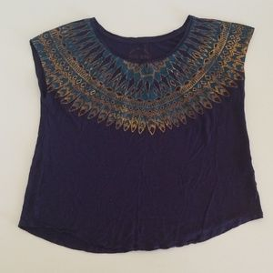 Lucky Brand Top Sleeveless Blouse Size Small